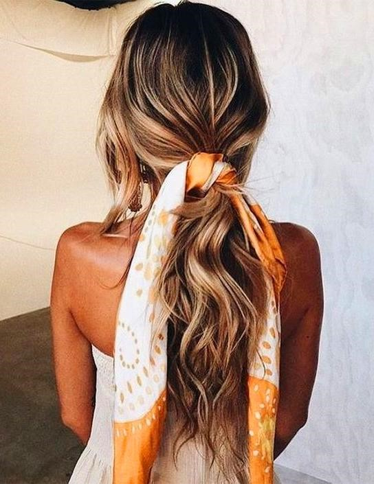 Pretty Bandana Hairstyles That Give Girls A Vintage And Cute Lo