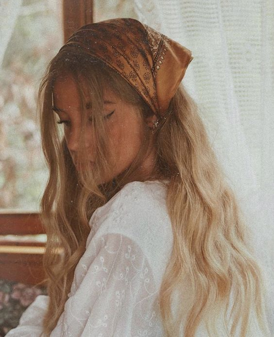 Pretty Hairstyles with a Bandana