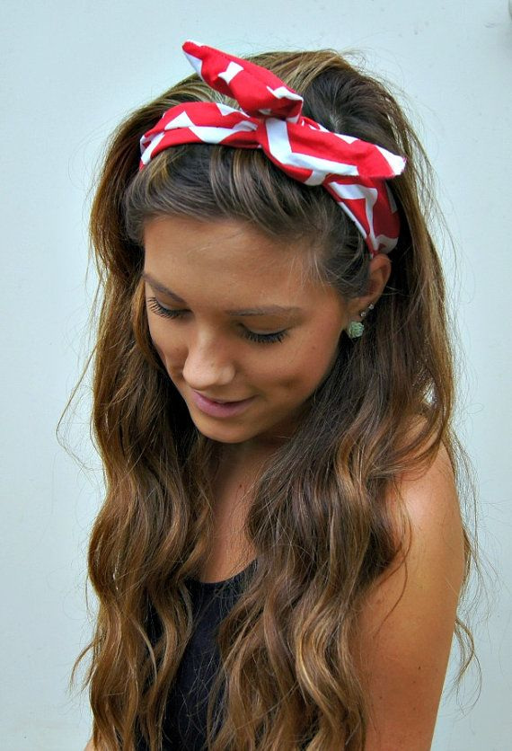 How to Create a Hairstyle with a Bandana - Pretty Desig