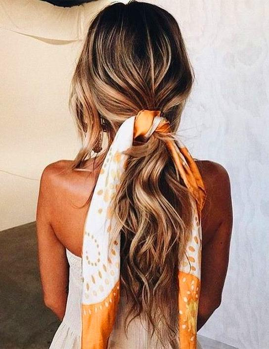 40 Cute Bandana Hairstyles for Cool Gir