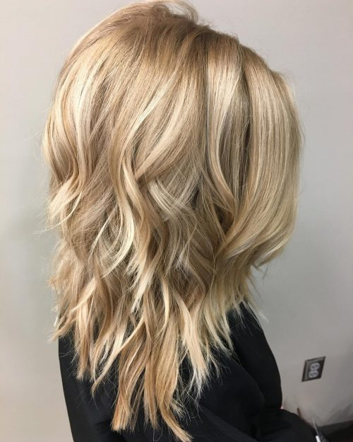 49 Hottest Medium Length Layered Haircuts & Hairstyl