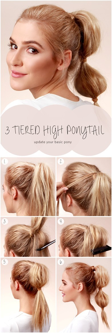 Pretty Long Hairstyles with Tutorials