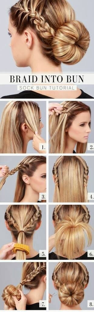 Fashionable Hairstyle Tutorials for Long Thick Hair - Pretty Desig