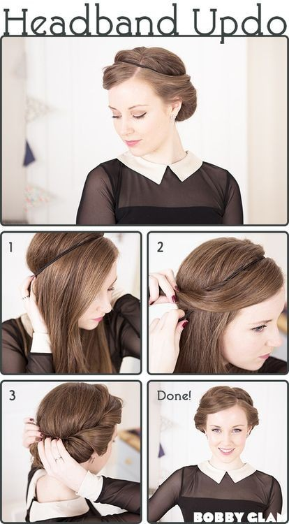 19 Pretty Long Hairstyles with Tutorials - Pretty Desig