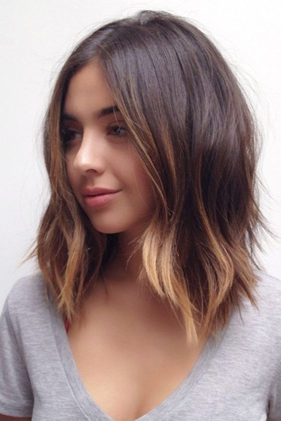 Pretty Mid-length Hairstyles for Women