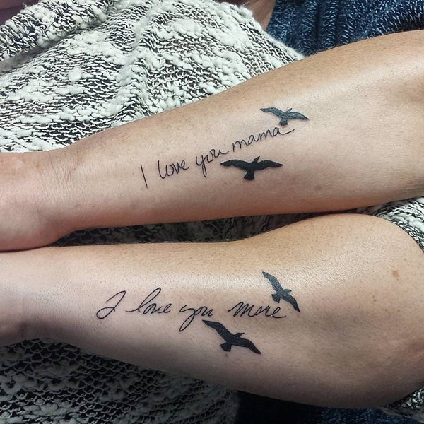 125 Popular Mother Daughter Tattoo Design Ideas - Wild Tattoo A