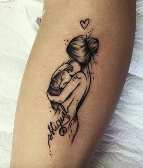 70+ Soulful Mother Daughter Tattoos To Feel That Bond - cute .