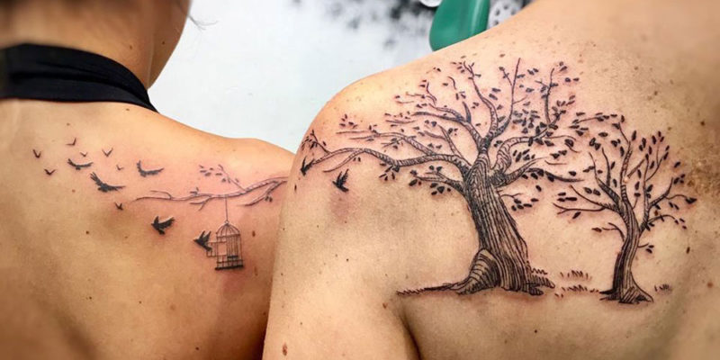 101 Cute Mother Daughter Tattoos: Meaningful Tattoo Ideas (2020 Guid
