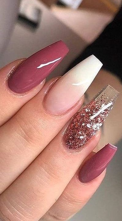 58+ Stylish Acrylic Nail Design Ideas Perfect for 2019 - Page 27 .