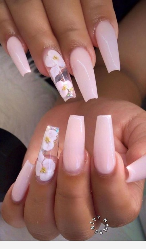 65+ beautiful acrylic nails coffin design ideas for any women 6 .