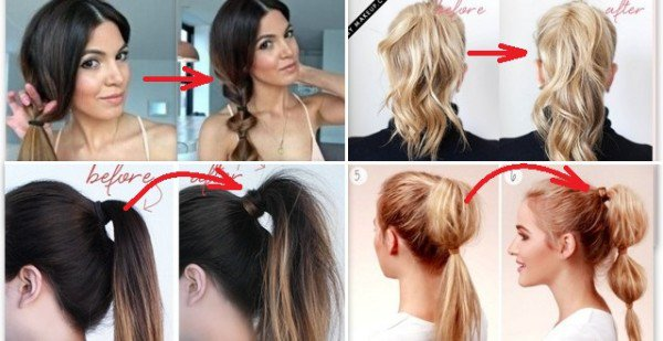 21 Super Easy But Amazing Ponytail Hairstyles That Will Save Your .