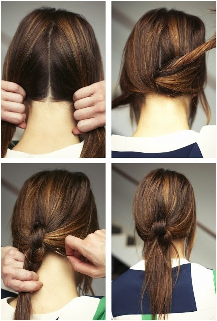 15 Cute and Easy Ponytail Hairstyles Tutorials - PoPular Haircu