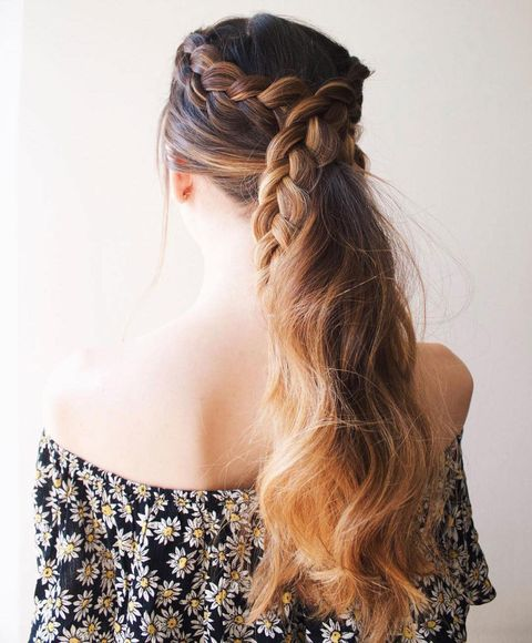 Ponytail Hairstyles - 5 Easy Ponytail Looks for the Work We