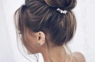 45 Best Beautiful And Cute Top Knot Haircut Design You May Love .