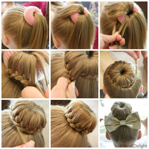Cute Bun Hairstyles for Girls - Our Top 5 Picks for School or Play .