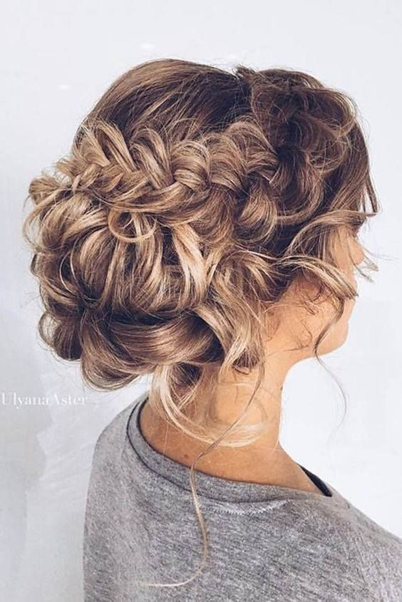 60 Trendy Easy Hair Updos To Look Stunning This Summer | Braided .