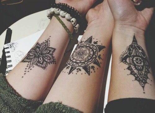 Dainty Wrist Tattoos for Women - Living