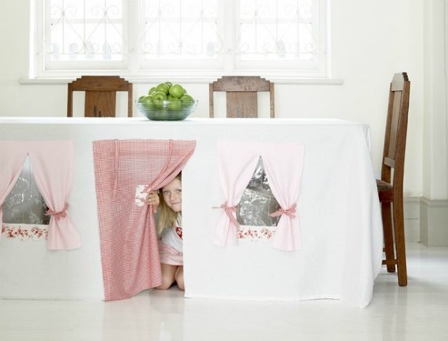 Weekend Projects: 5 Kid-Friendly DIY Forts | Play houses, Cubby .