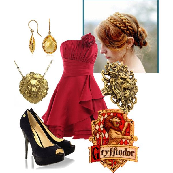 Gryffindor Prom in 2020 | Harry potter outfits, Harry potter .