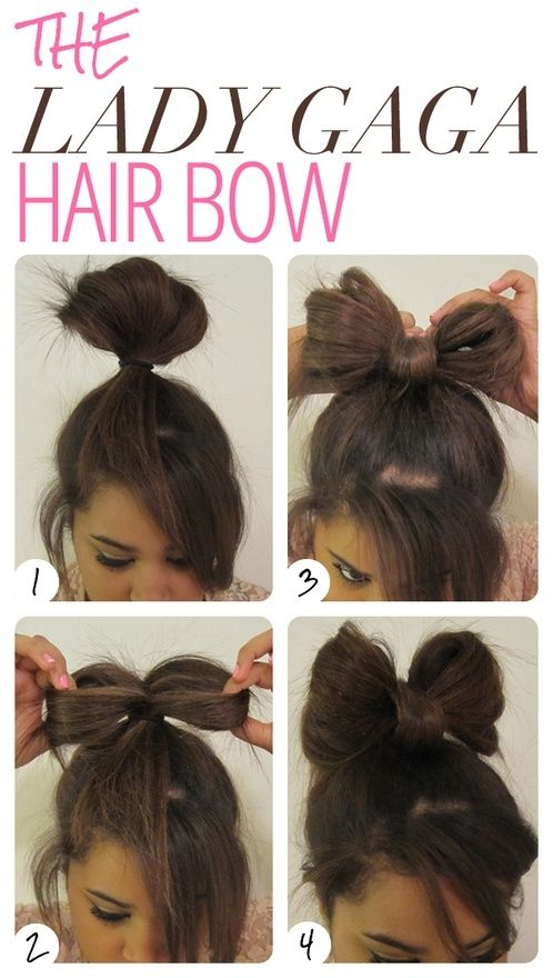 7 Easy and Quick DIY Hairstyles With Helpful Tutorials | Lady gaga .