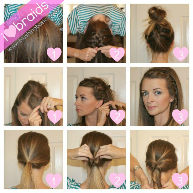 Quick DIY Hairstyles With Tutorials