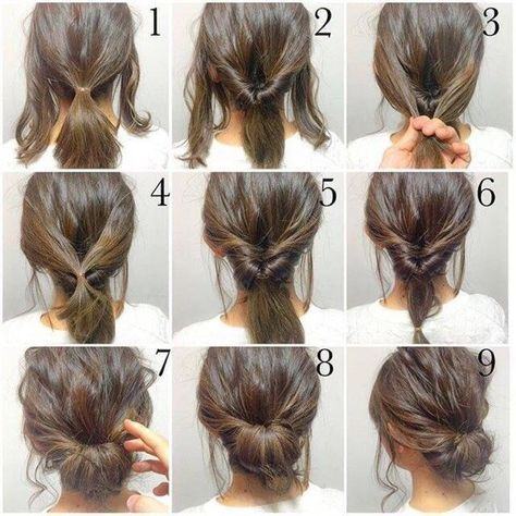 Top 10 Messy Updo Tutorials For Different Hair Lengths | Medium .