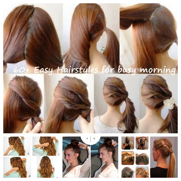 60 Simple DIY Hairstyles for Busy Mornin