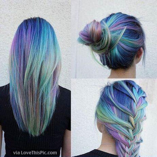 Rainbow Hairstyles Pictures, Photos, and Images for Facebook .