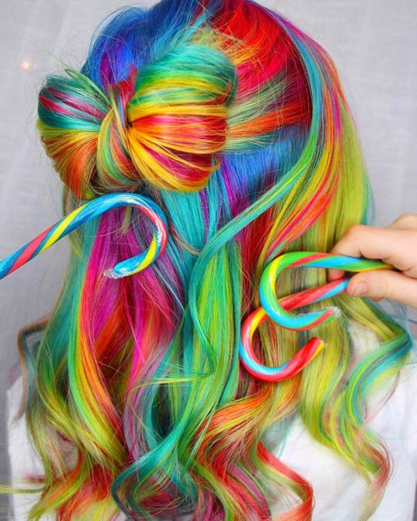97 Cool Rainbow Hair Color Ideas to Rock Your Summ