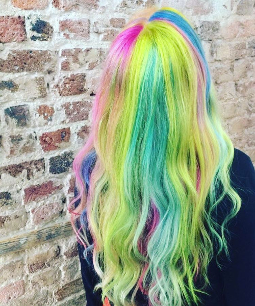 Rainbow Hairstyles You Will Want to Copy Right Now - Shop B
