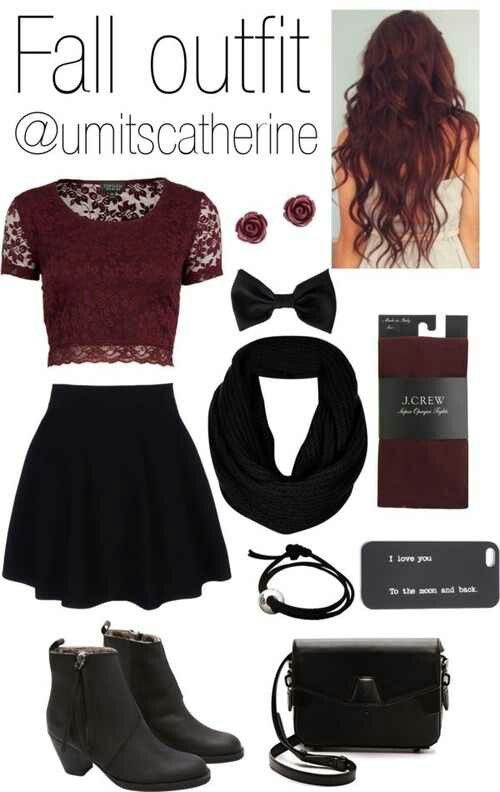 Really cute outfit, wish the top and skirt were both longer .