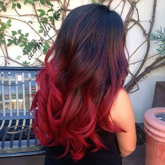 20 Best Red Ombre Hair Ideas 2020: Cool Shades, Highlights .