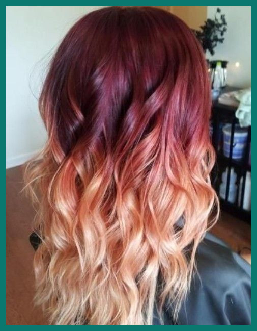 Coloring Hair From Red to Blonde 185964 Hair Color Trends for 2020 .