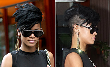 Rihanna Latest Hairtyles