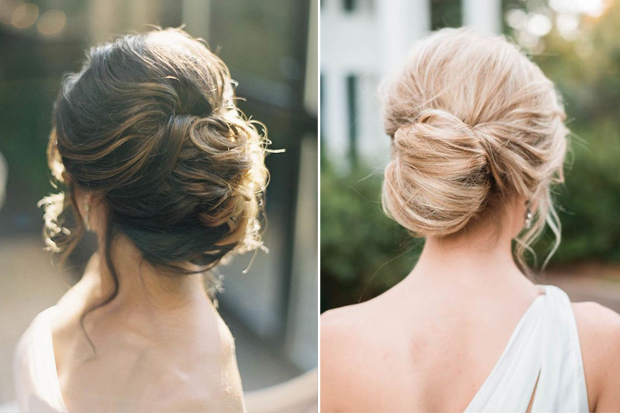 Romantic Bridal Hairstyles for the Season
