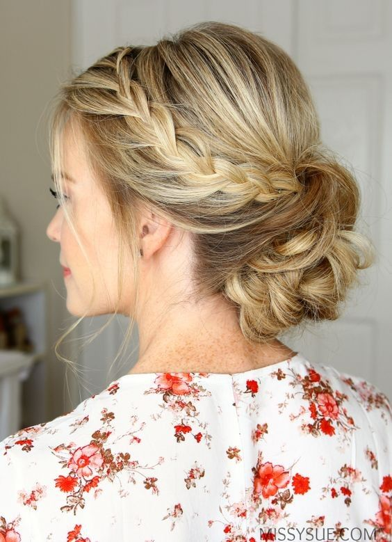 Gorgeous braided wedding hairstyles for a romantic big day look .