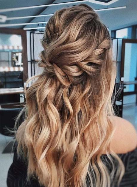 Romantic Hairstyle Ideas 2019 | Latest Fashion Trends - Hottest .