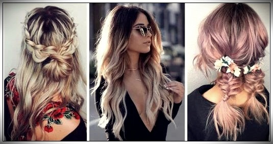 15 Ideas for tender and romantic hairstyles to wear on a first da
