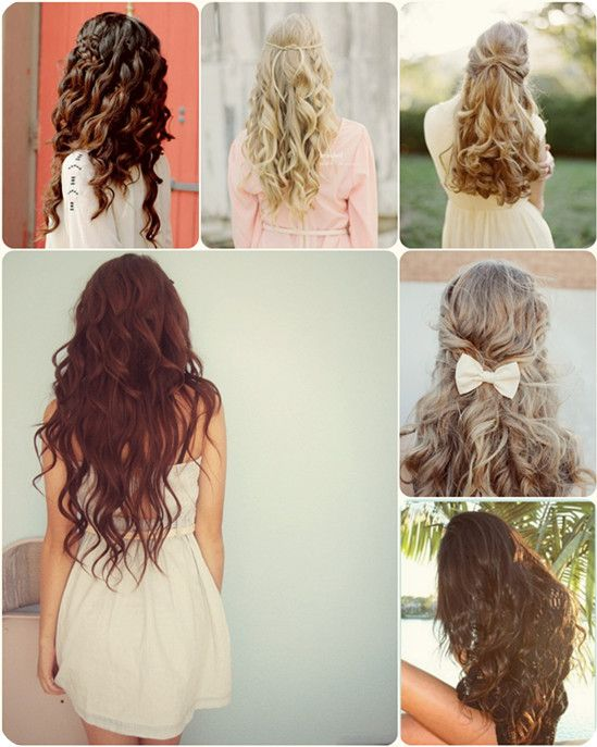 Romantic Hairstyles for Dating