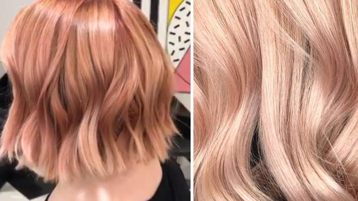 Rose Gold Hair Is The New Colour We're All Lusting After - Ty