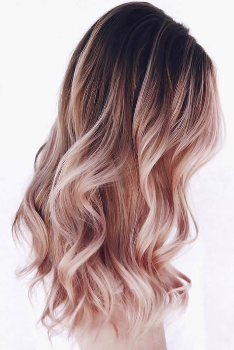 Ombre Hair Looks That Diversify Common Brown And Blonde Ombre Hair .