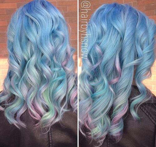 Sassy Blue Hair Colors – Ombre, Balayage,   Dark Blue Hairstyles