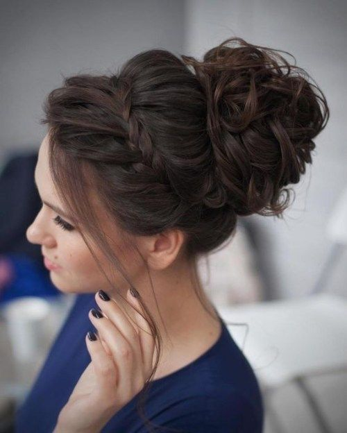 10 Stunning Up Do Hairstyles - Bun Updo Hairstyle Designs for .