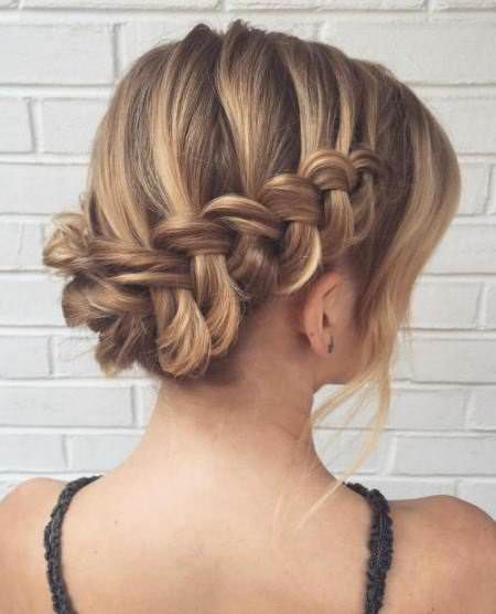 20 Unique Updos for Thin Hair | Fine hair updo, Thin hair updo .