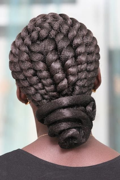 Pin by Sassy on Portraits | Natural hair updo, Braided hairstyles .