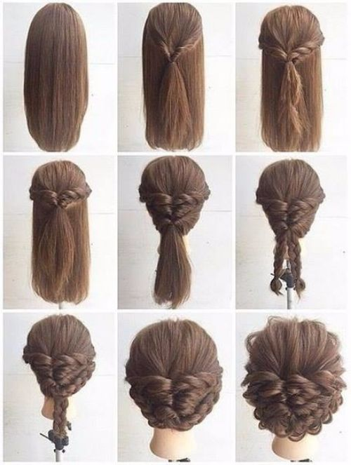 Sassy Hairstyle Tutorials for Short or   Medium Hair