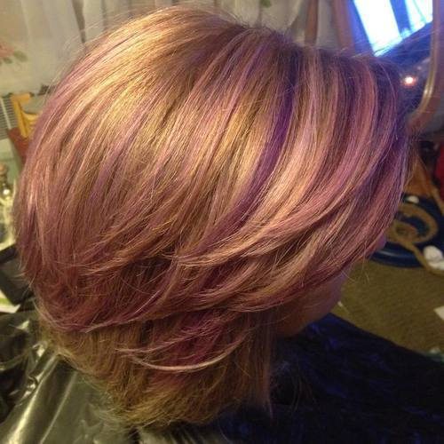 20 Sassy Purple Highlighted Hairstyles for Girls - Hairstyles Week