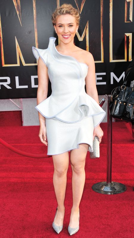 Style File: Scarlett Johansson's 10 Best Red Carpet Looks Ever .