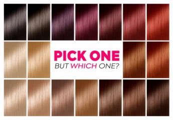 How to Pick the Best Hair Colour from the Hair Colour Cha