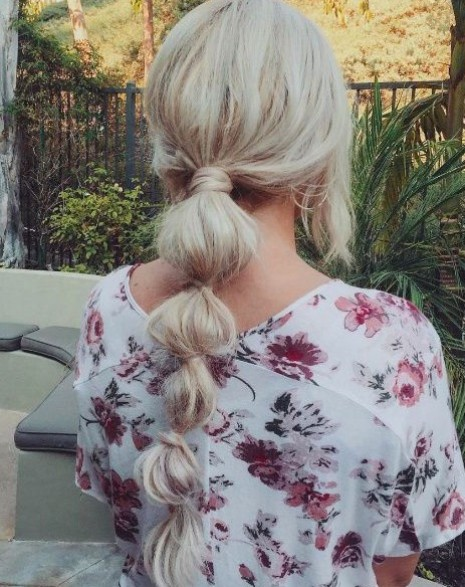 40 Top Pony Tail Looks from Pinterest - Hairstyle on Poi